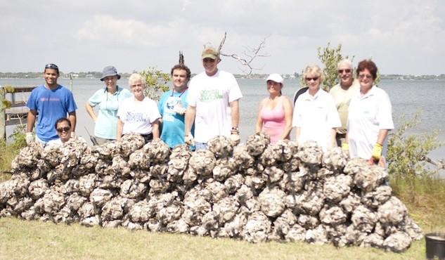 FOS Oyster Bagging Volunteers